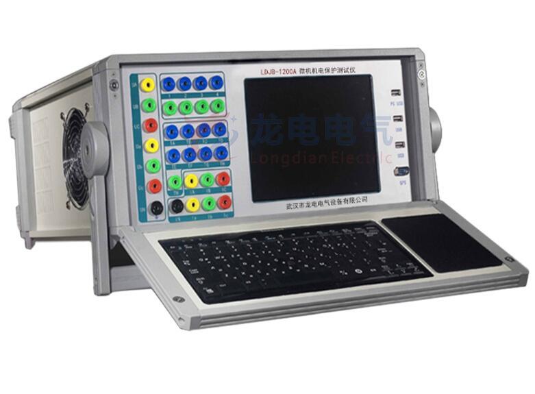继电保护校验仪在交流带测试时,由于交流电过零而产生20毫秒内的随机